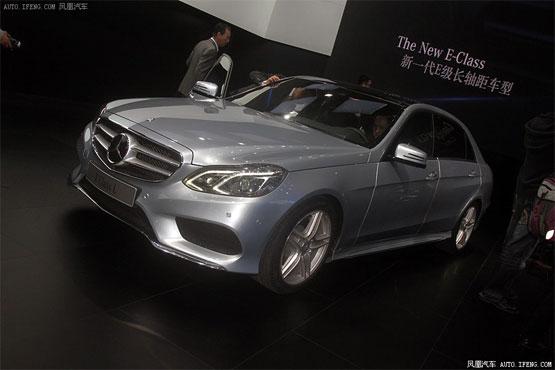 上海车展新车调查指数分析—奔驰新E级