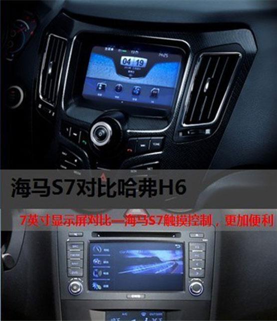 智能 安全 品质 全新海马S7对比哈弗H6