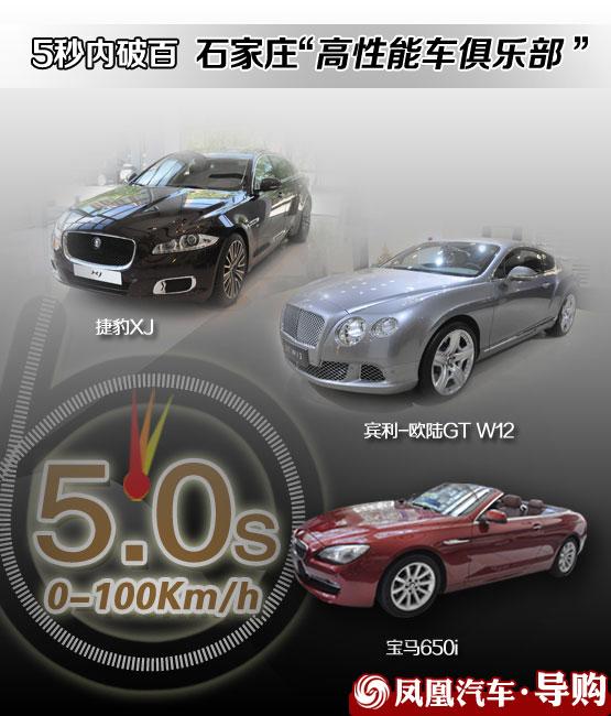 5秒内破百:石家庄高性能车俱乐部体验