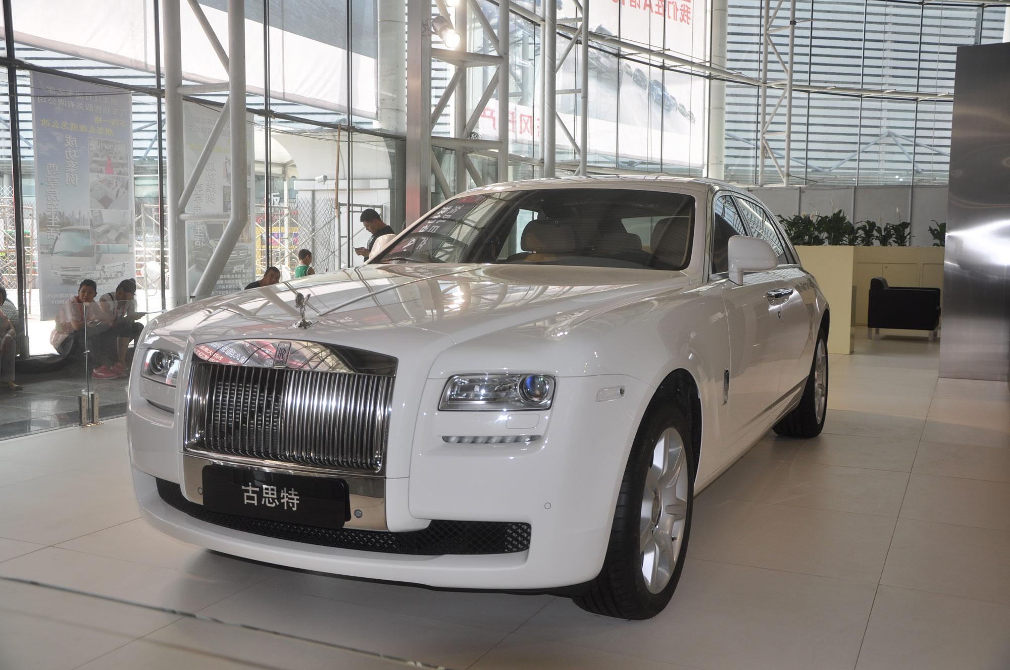 国际车展百万元豪车