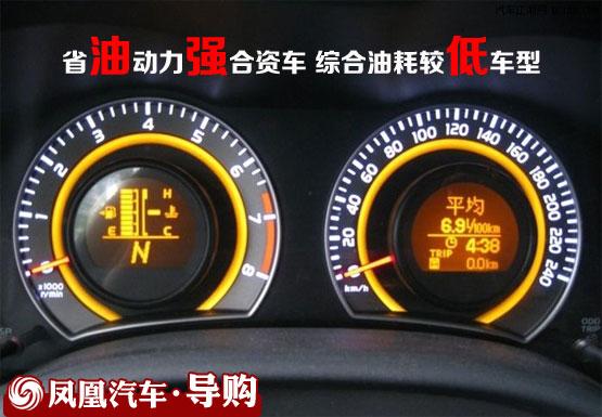 综合油耗较低车型