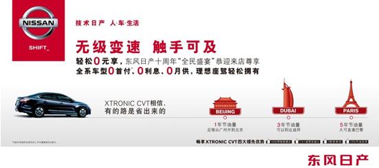 东风日产XTRONIC CVT