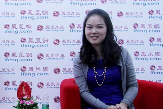 凤凰高端访谈 广物集团市场部杨霞女士