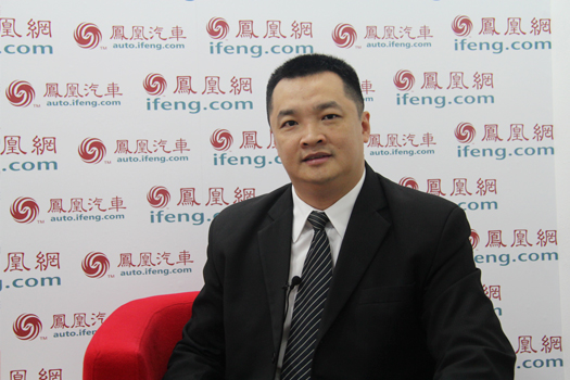凤凰高端访谈 广德宝5S店高毅强总经理