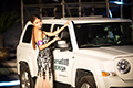 亚洲车模大赛海选比赛登陆中华武林园
