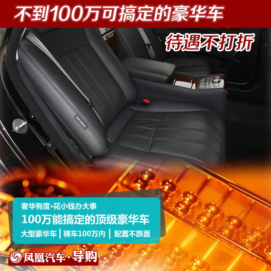 100万内低配豪华车