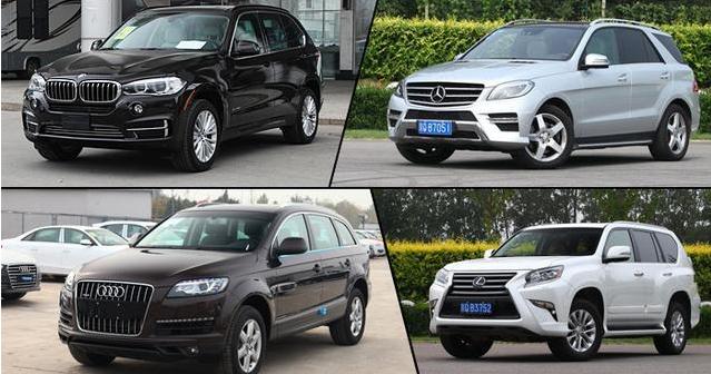 四款高品质SUV大比拼