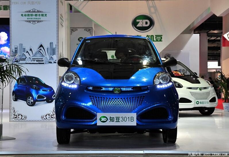 众泰知豆新能源车直降2.5千 店内有现车