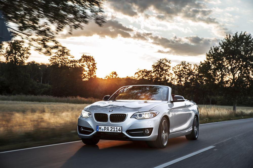 全新BMW 2系敞篷轿跑