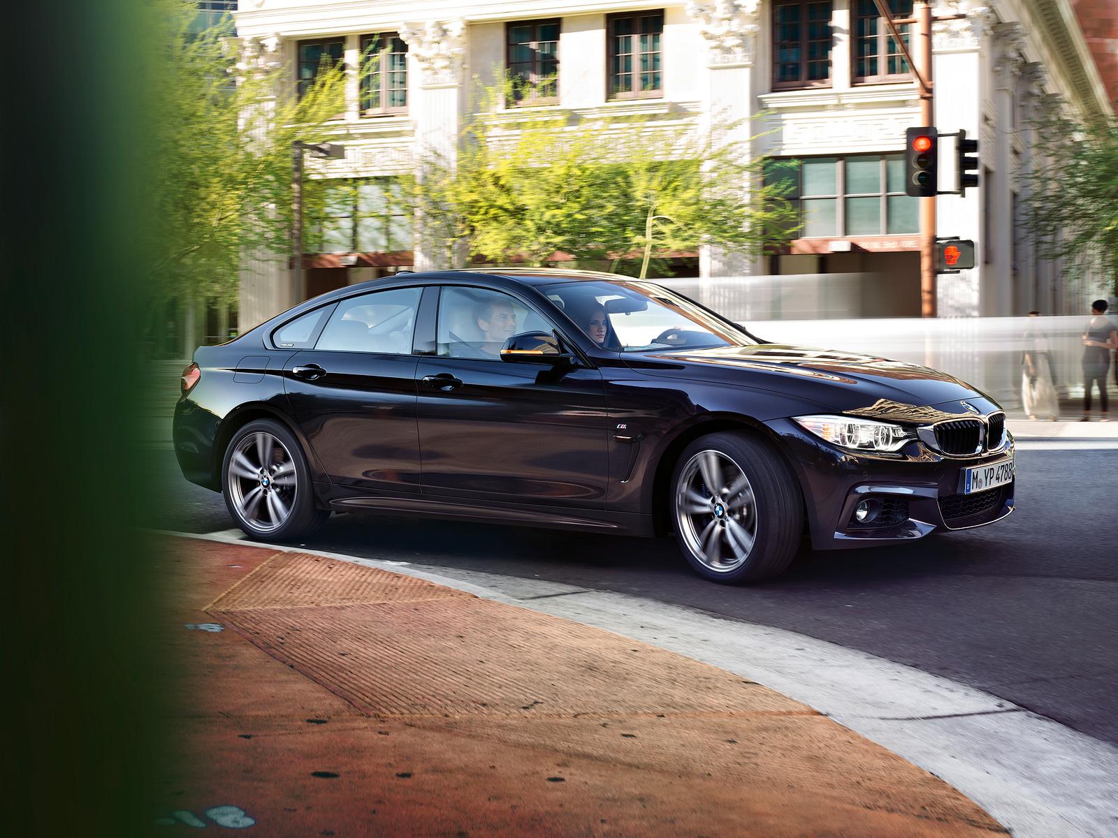 全新BMW 4系四门轿跑