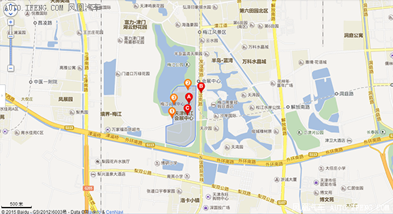 2018十一车展——梅江会展中心交通指南