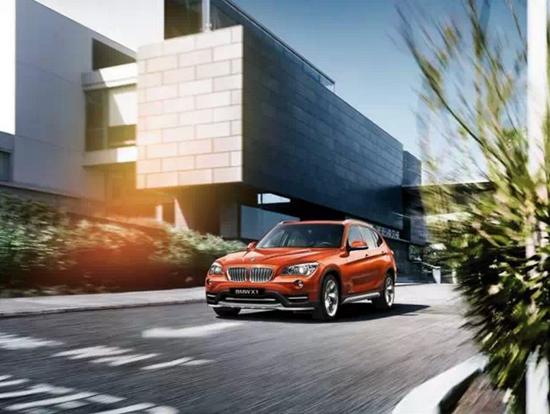 BMW X1月供最高仅限360元