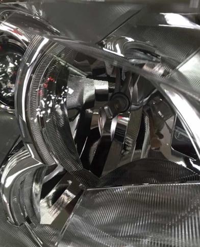 LED车灯改装 雪莱特LED大灯装车首曝光高清图片