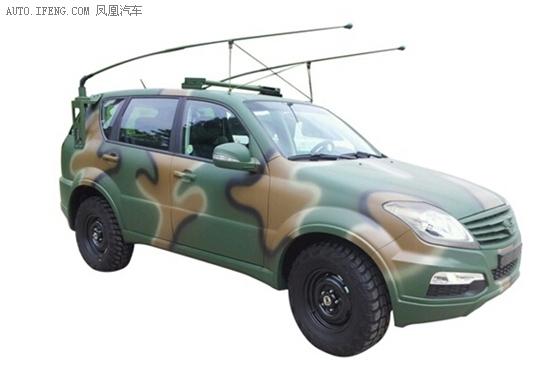 双龙SUV传承军工品质