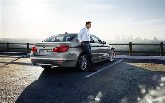 全新BMW 5系商务风范