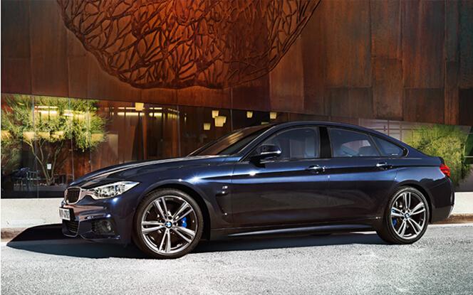 BMW4系带您感受速度