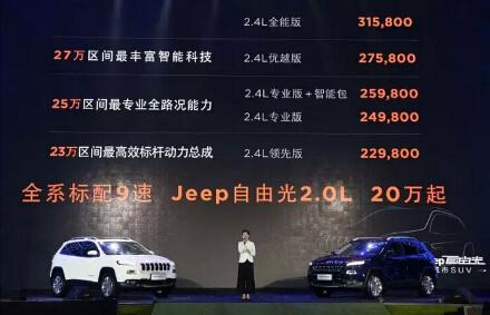 jeep自由光优越启程