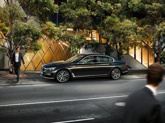 全新BMW 7系上市发布