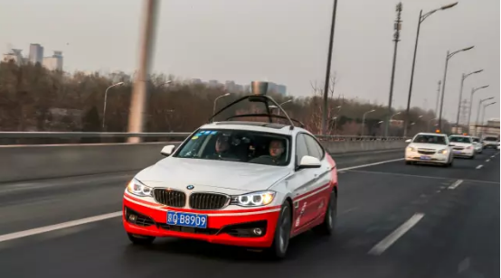 BMW展示自动驾驶技术