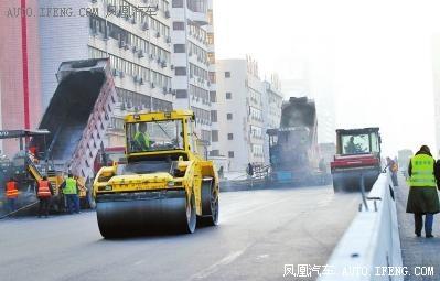 农业路高架春节前通