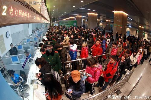 天津站春运多趟临客