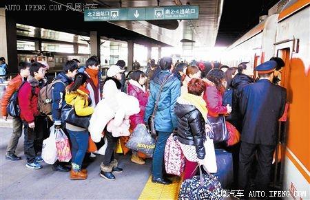 天津站学生客流高峰