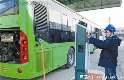 滨海新区新能源公交