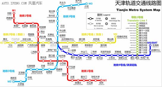 天津5年内建10条轨道
