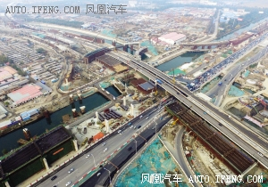 天津东北建9座立交桥