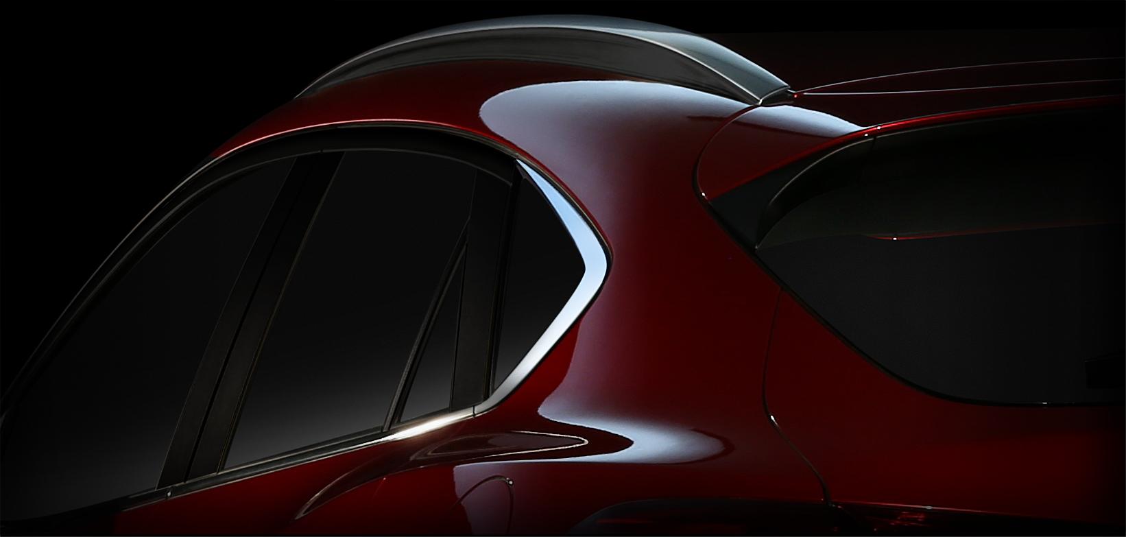 未来派轿跑SUV马自达CX 4北京车展首发高清图片