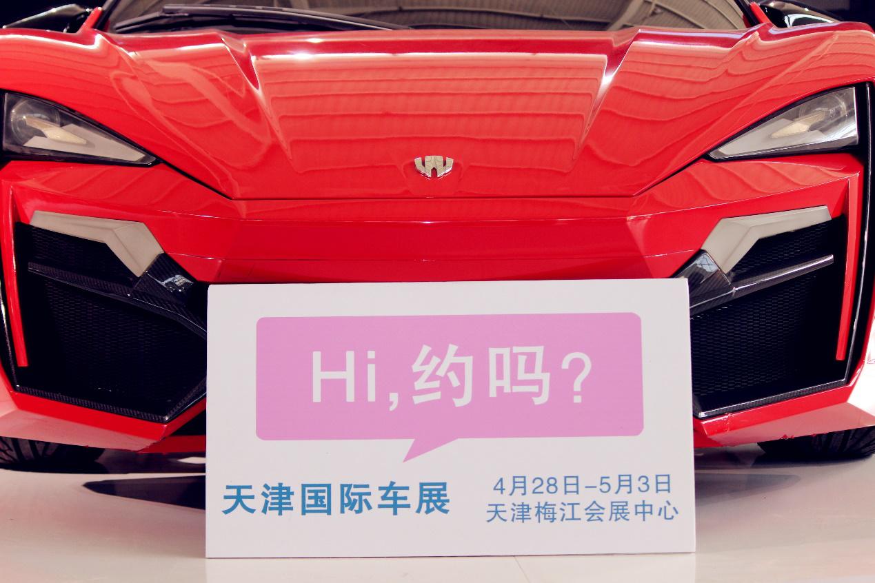 天津梅江车展名模