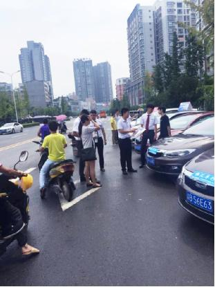 观致汽车重庆4S店 区域 夏季巡展高清图片