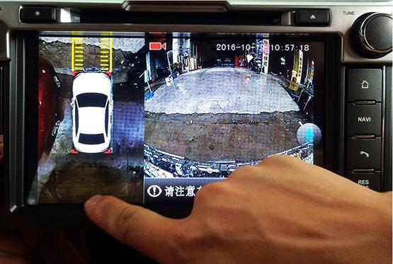驭景首推HDMI高清360度全景行车记录仪