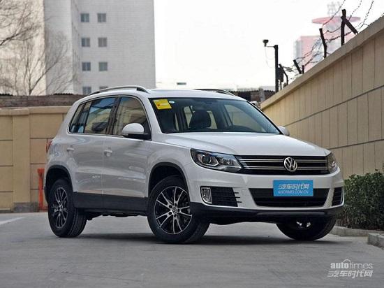 新款上海大众途观购车热线:158-1136-9381
