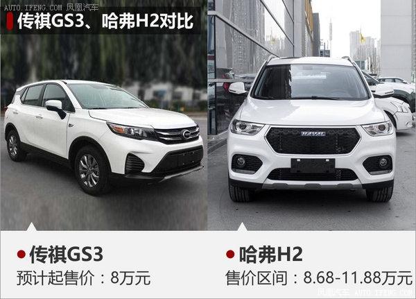 广汽传祺GS3实车曝光 预计8万起售-图-图2