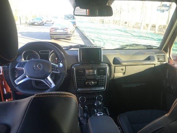 17款奔驰G500 复古男人座驾最新优惠曝光-图5