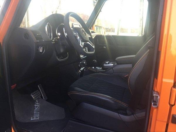 17款奔驰G500 复古男人座驾最新优惠曝光-图8