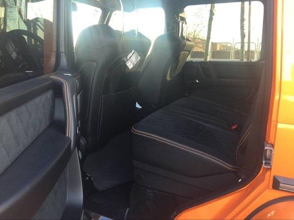 17款奔驰G500 复古男人座驾最新优惠曝光-图9