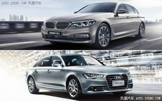 新BMW 5系VS奥迪A6L