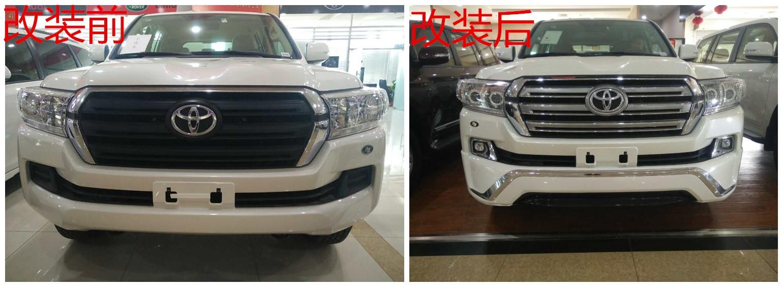 丰田兰德酷路泽4000真实价格 中东版4.0陆巡实车加装对比