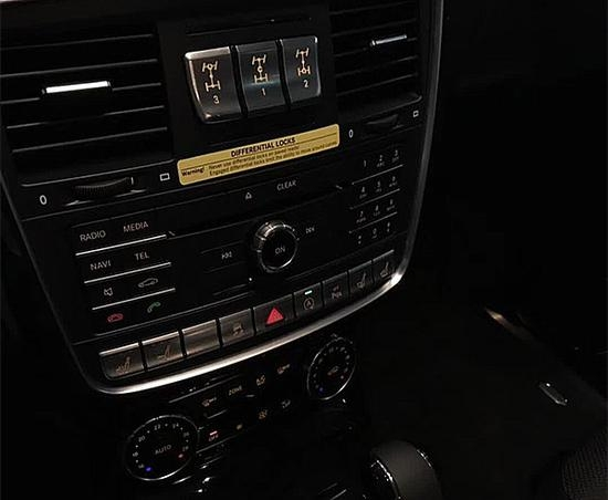 2017款奔驰G550 越野贵族