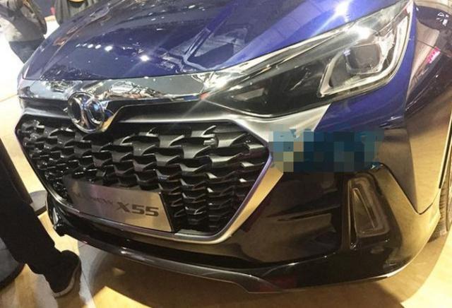北汽全新绅宝X55,长度增加75mm,卖8万凭颜值就不买H2