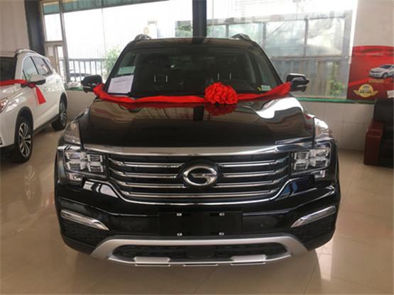 传祺GS8现车最新报价 大气硬派时尚舒适