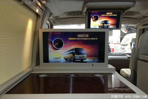 丰田考斯特12座基本配置 丰田考斯特12座升级后配置电话:13126686226同微信