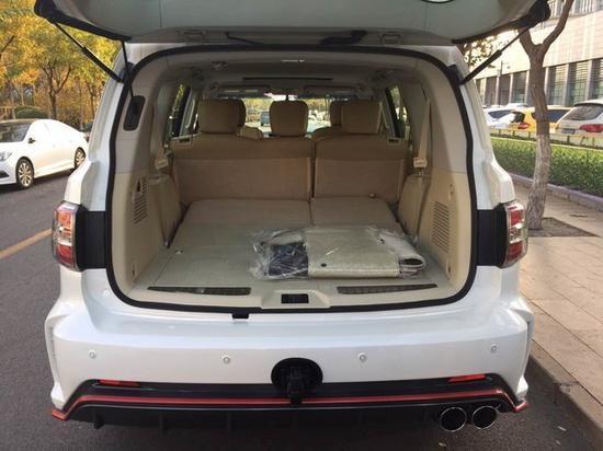 18款xe途乐y62搭载直喷自然吸气发动机当日提车,当日上路