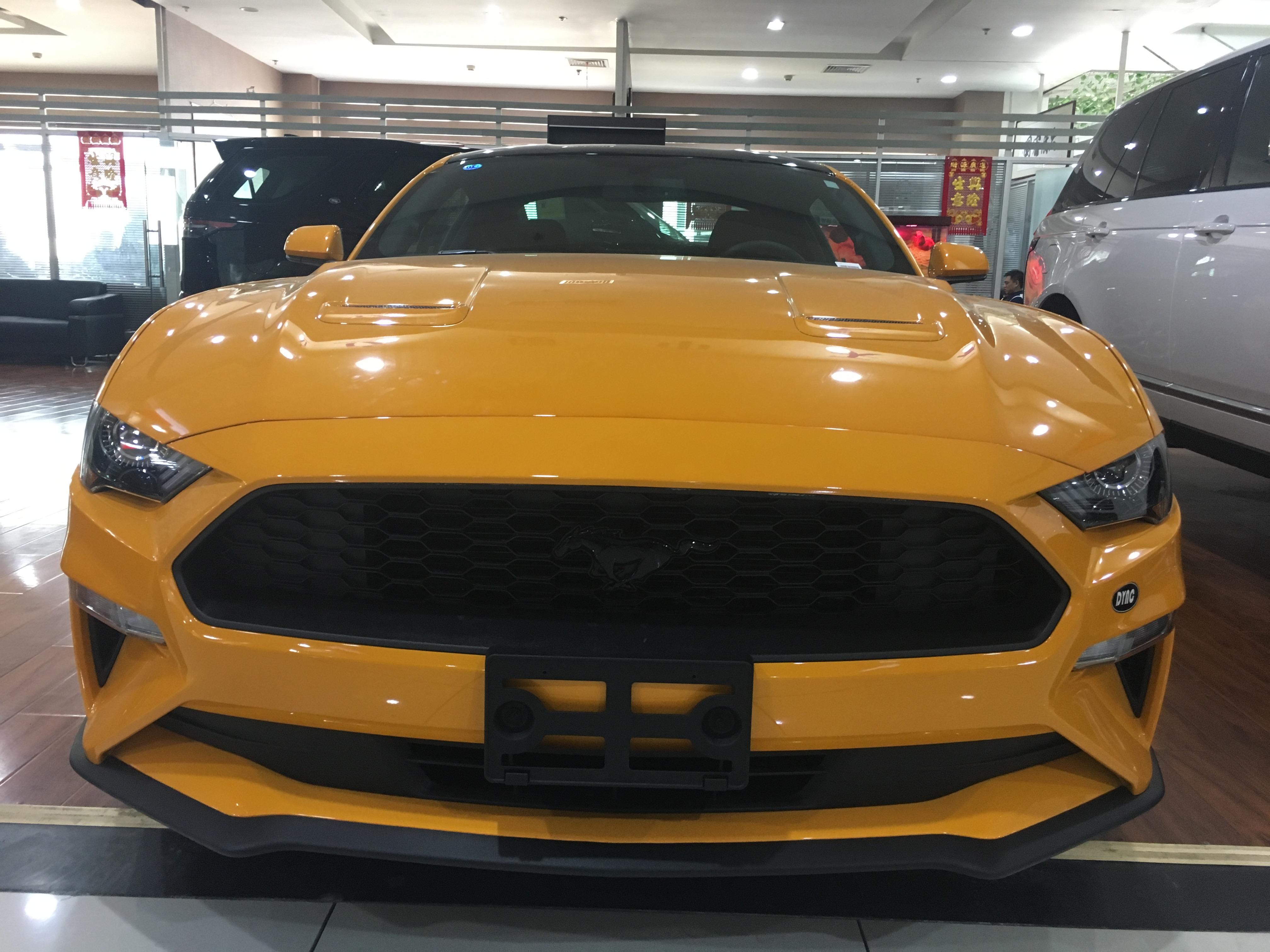2018款福特野马2.3t 超惠价格燃爆津港