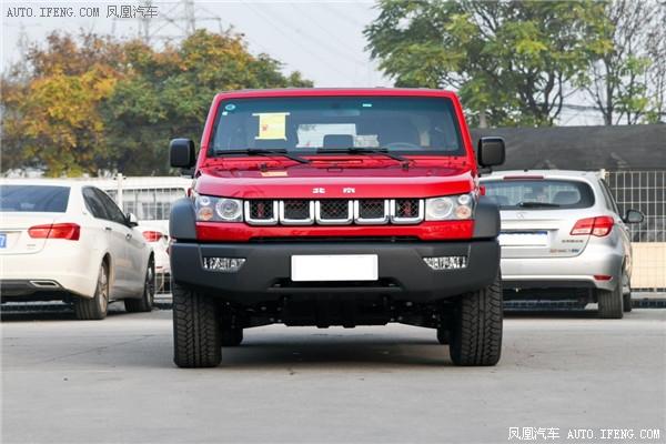 18款BJ40柴油版北京裸车最低报价售全国