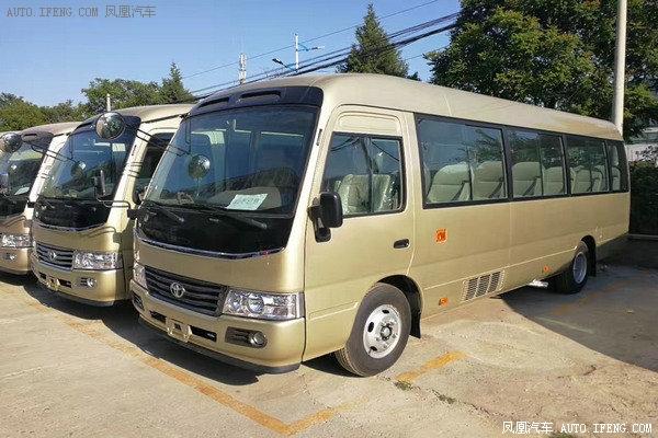 2018款丰田考斯特19座 小型巴士经典改装-图4