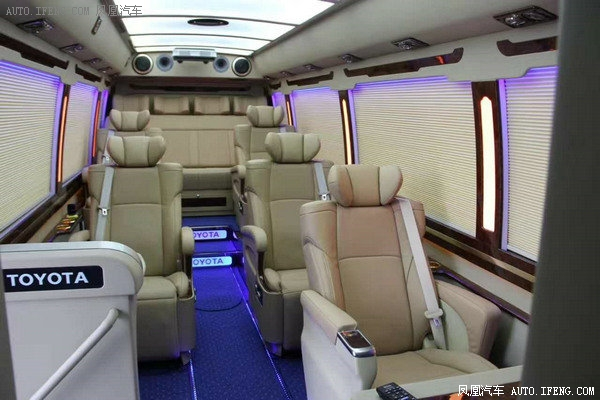2018款丰田考斯特19座 小型巴士经典改装-图9