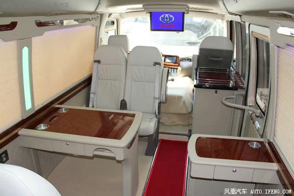 2018款丰田考斯特19座 小型巴士经典改装-图14